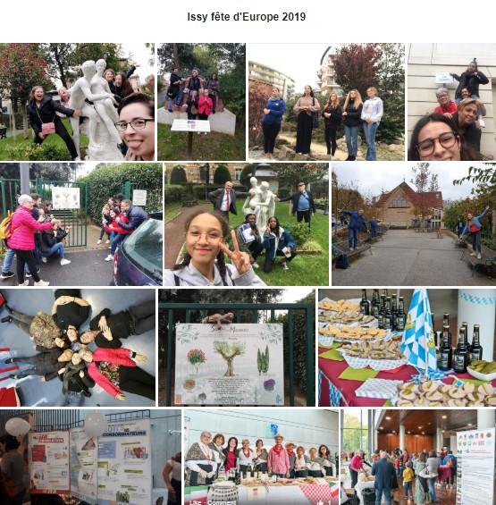 Issy-les-Moulineaux a fêté l'Europe avec ses villes jumelles de Weiden et de Macerata du 18 au 20 octobre 2019